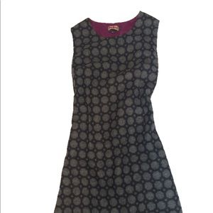 Boden geometric tweed dress